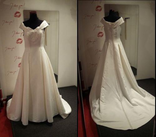 Cena : 800 PLN. Rozmiar : 38,40,42. Suknia ślubna   Firmy Pronuptia. Opis :