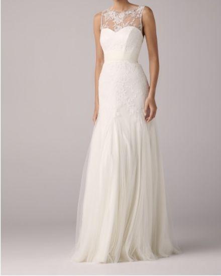 Cena : 1500 PLN. Rozmiar : 38. Suknia ślubna  Model HOPE Firmy ANNA KARA. Opis :Suknia z prestiżowego salonu ślubnego ANNA KARA.Sukienka jest pokryta oryginalną francuską koronką.W zestawie tiulowa spódnica(ma ślady użytkowania).Rozmiar 38, około 170 cm wzrostu, szpilka 6-7.