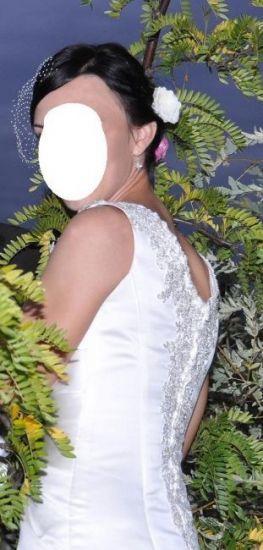 Cena : 600 PLN. Rozmiar : 36,38. Suknia ślubna   Firmy . Opis :