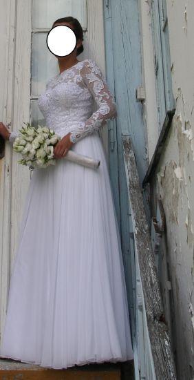 Cena : 800 PLN. Rozmiar : 36,38. Suknia ślubna   Firmy . Opis :