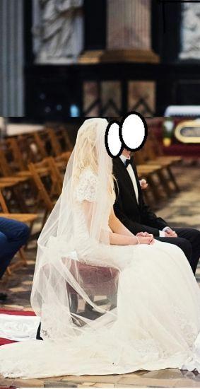 Cena : 1000 PLN. Rozmiar : 38. Suknia ślubna   Firmy Madonna. Opis :