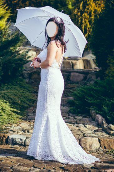 Cena : 800 PLN. Rozmiar : 40,42. Suknia ślubna  Impresja Firmy . Opis :Suknia Impresja model Jesolo Kolekcja 2016/2017 38 rozmiar 165cm+8cm obcas